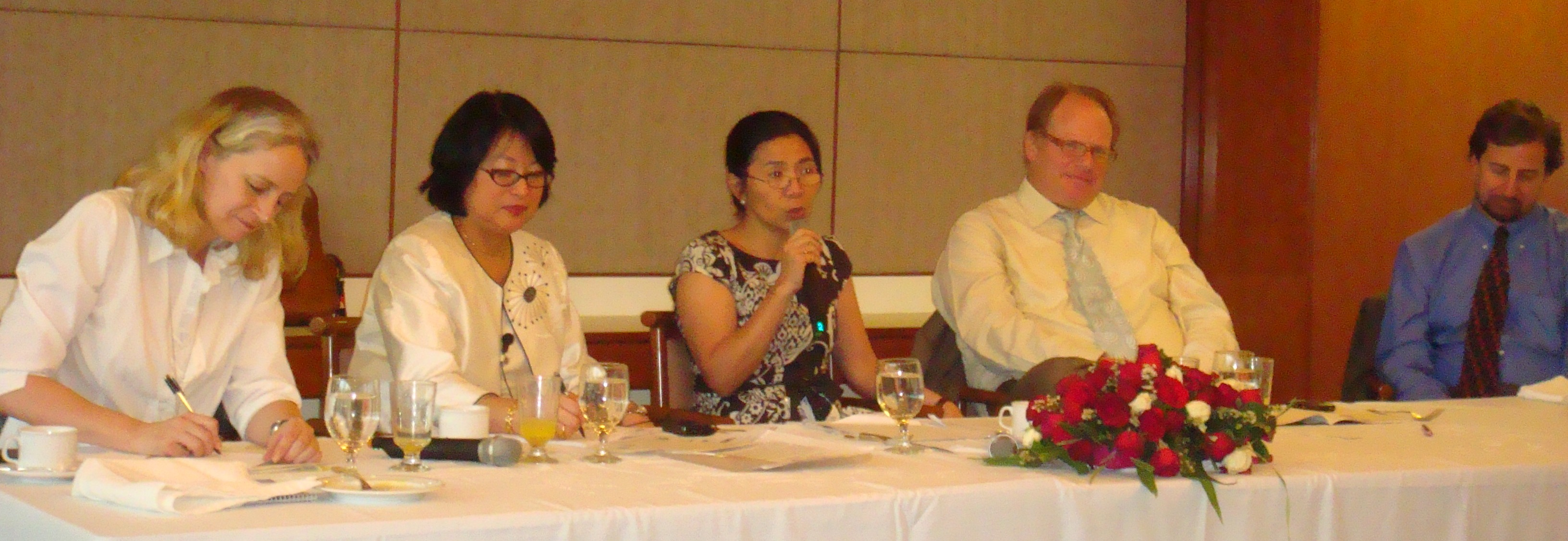 Theary Seng at Luncheon Panel (ADB Manila, 17 Feb. 2010)