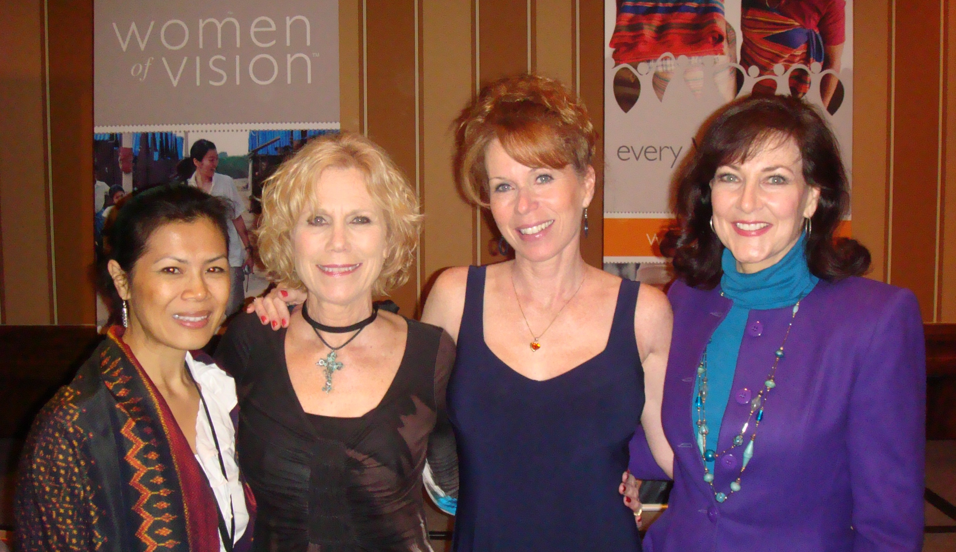 Theary Seng, Marilee Pierce Dunker, Robyn Pierce Women of Vision, March 2010