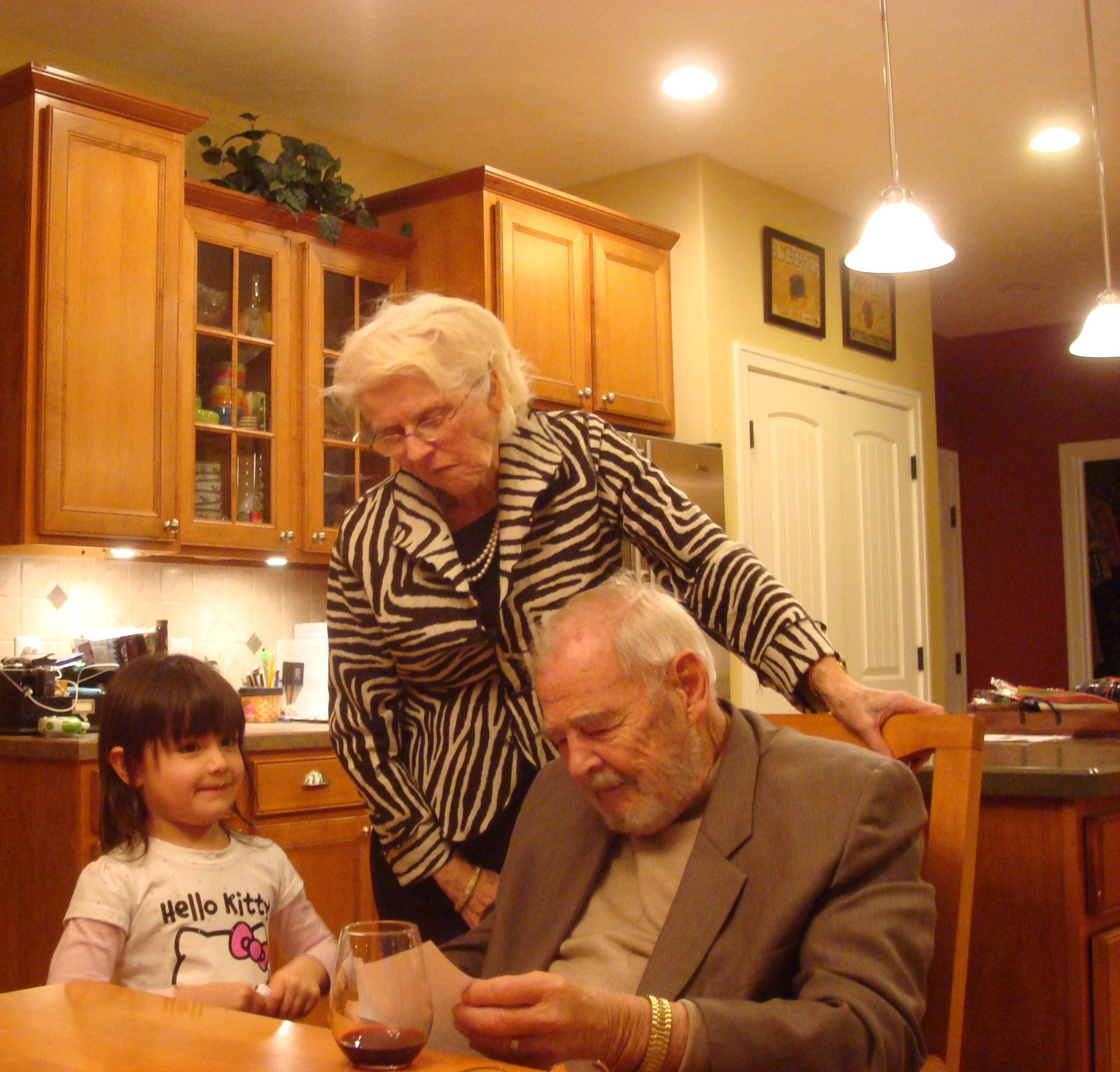 Lily Seng, Helen and Wally Boelkins (Grand Rapids, 7 Jan. 2011)