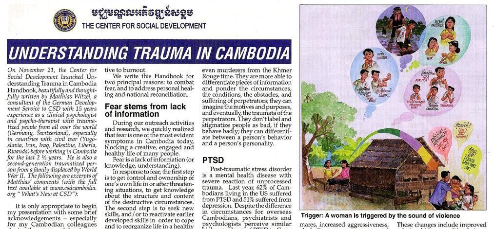 Understanding Trauma in Cambodia Theary Seng Matthias Witzel Voice of Justice