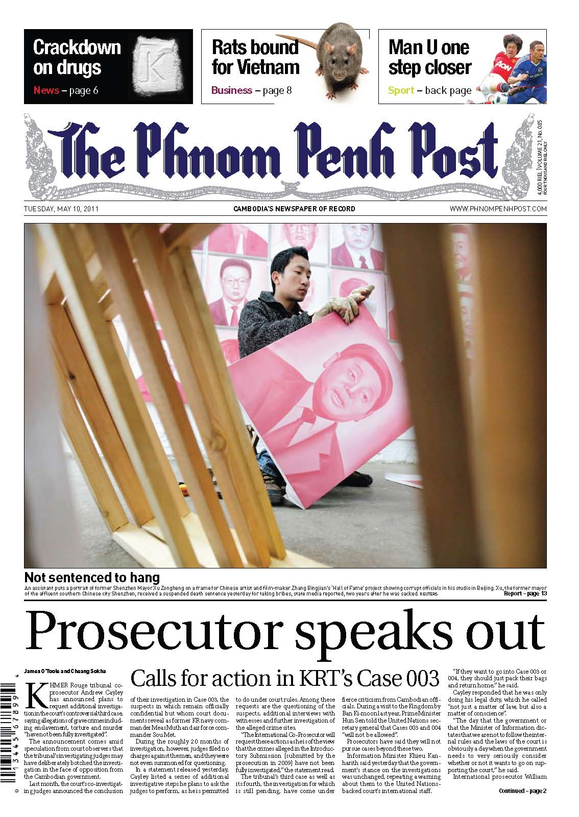 Phnom Penh Post, Case 003, 610 May 2011
