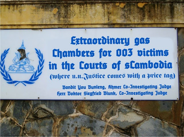 ECCC gas chamber sign, 2 May 2011