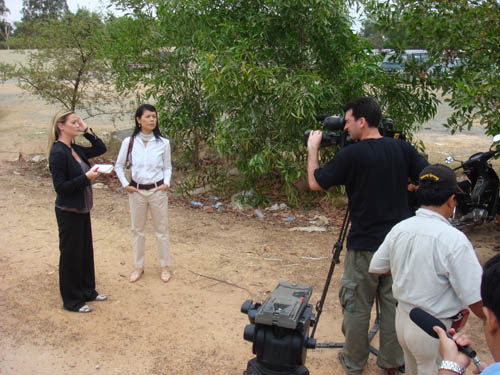 Theary Seng live interview on Al Jazeera, Duch case Feb. 2009