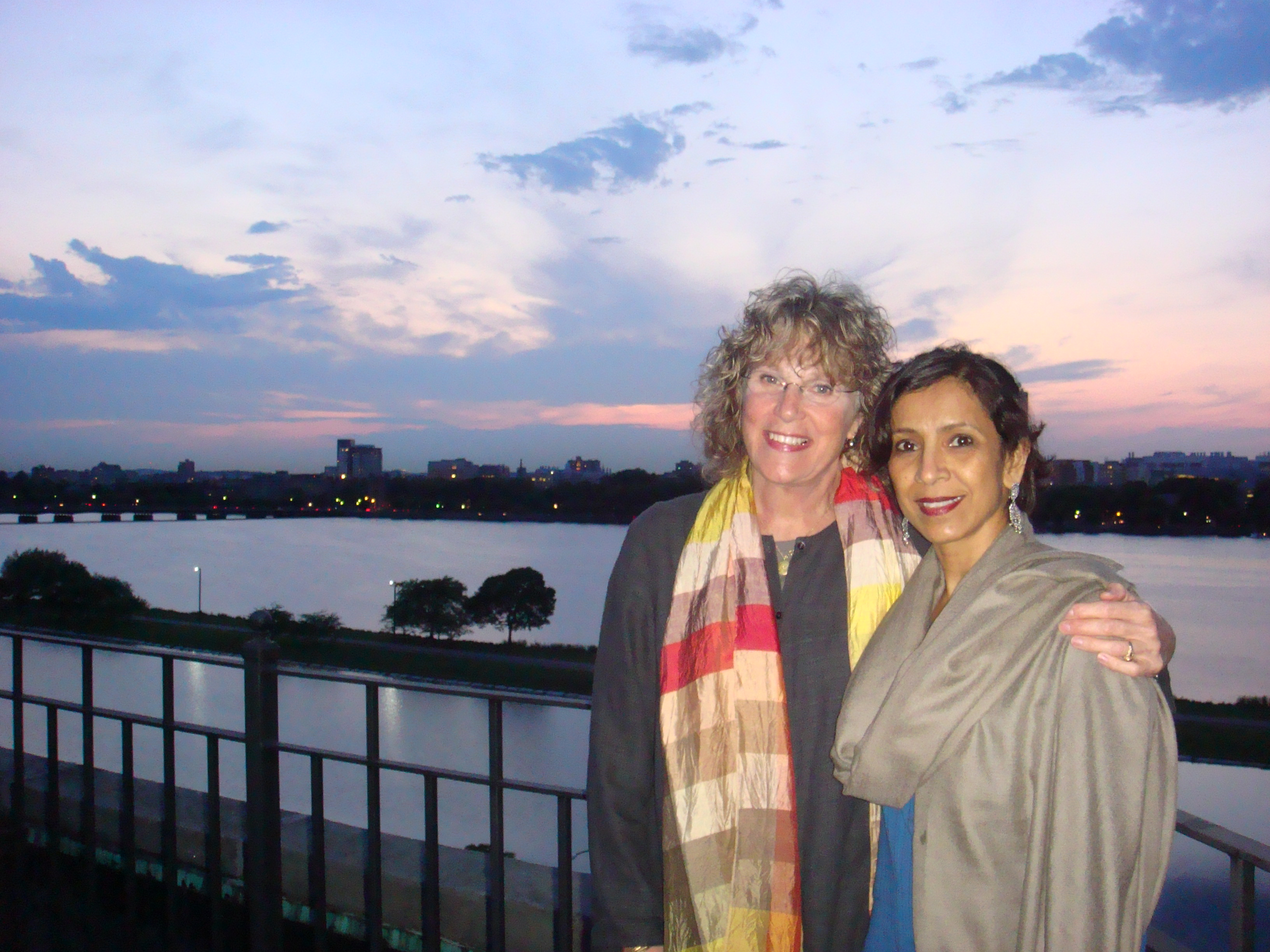 Lauren Shaw and Dr. Sughra Raza, Boston, 21 May 2010