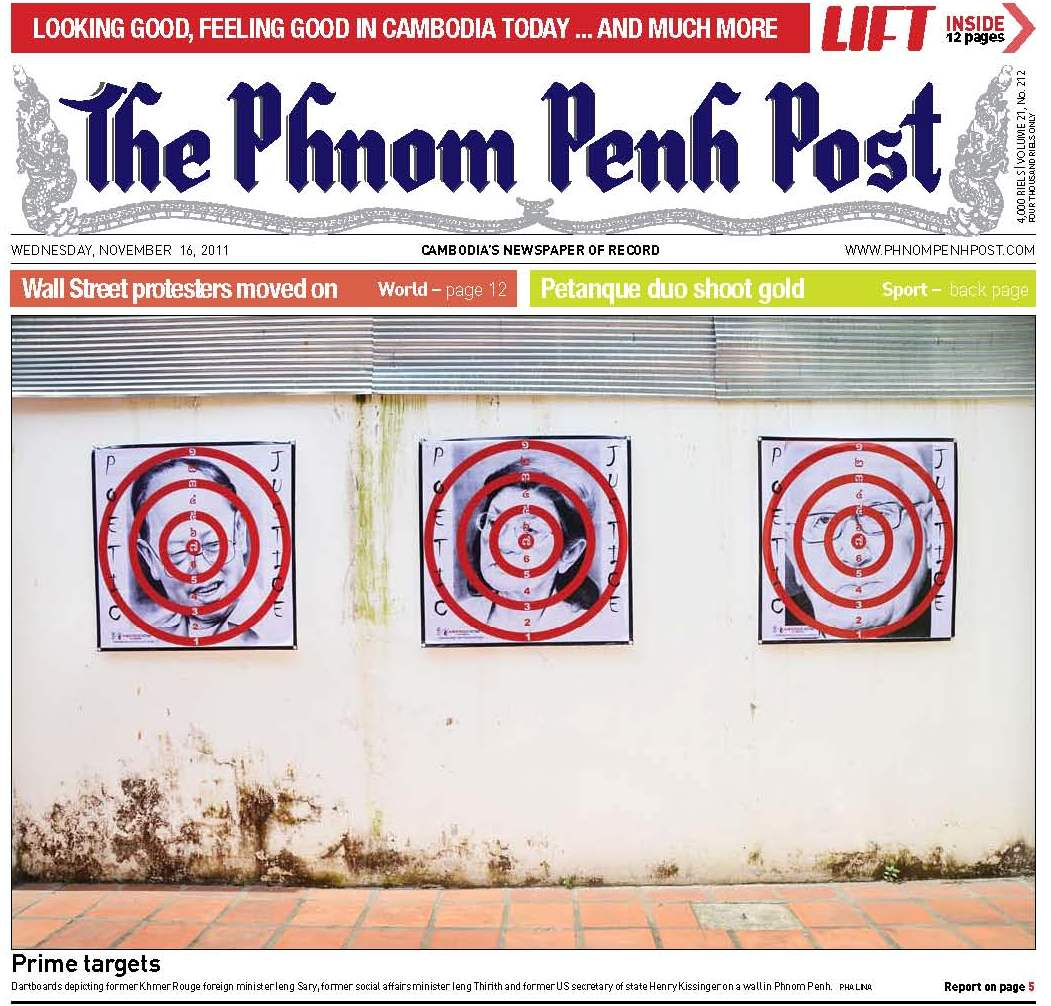 Phnom Penh Post Poetic Justice, 16 Nov. 2011