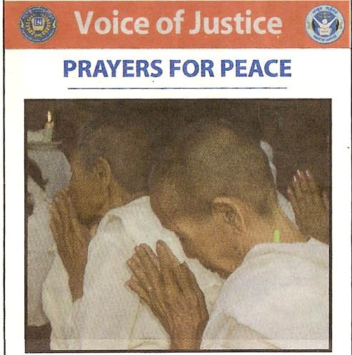 Voice of Justice: Prayers for Peace by Francis of Assisi and Maha Ghosananda