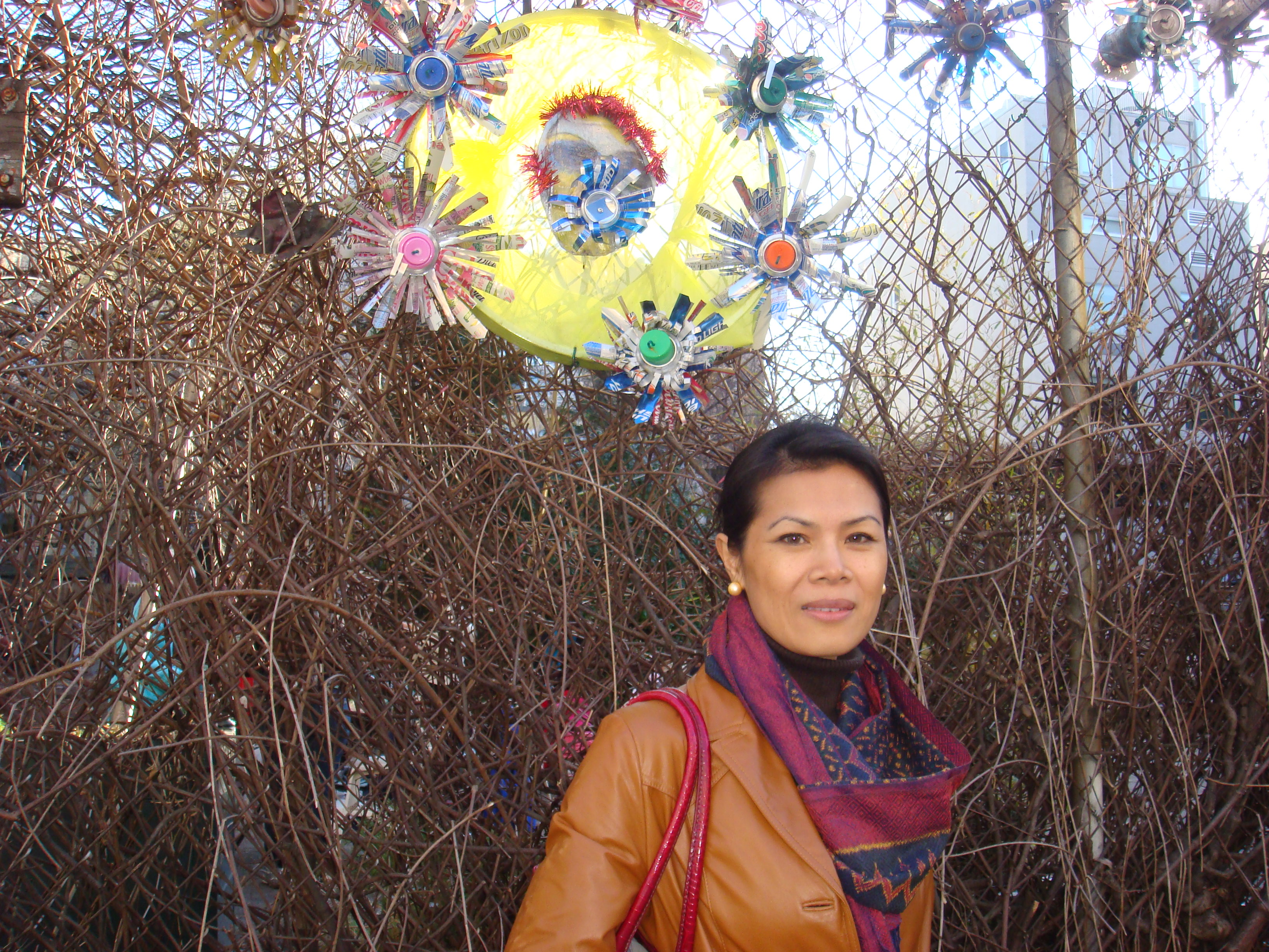 Theary Seng in NYC, photo by Matt Dillon, 16 March 2010