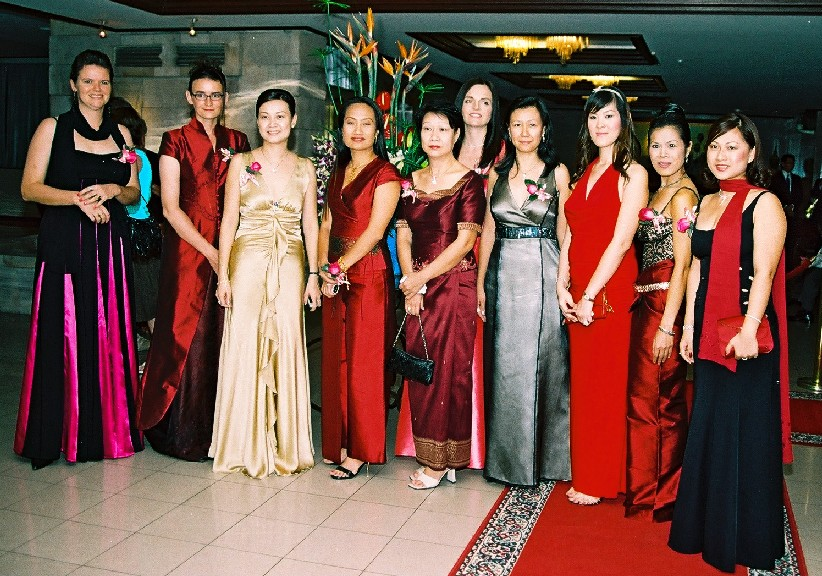 Theary Seng co-founder and vice president of WASMB (Fundraising gala at Cambodiana, 2005)